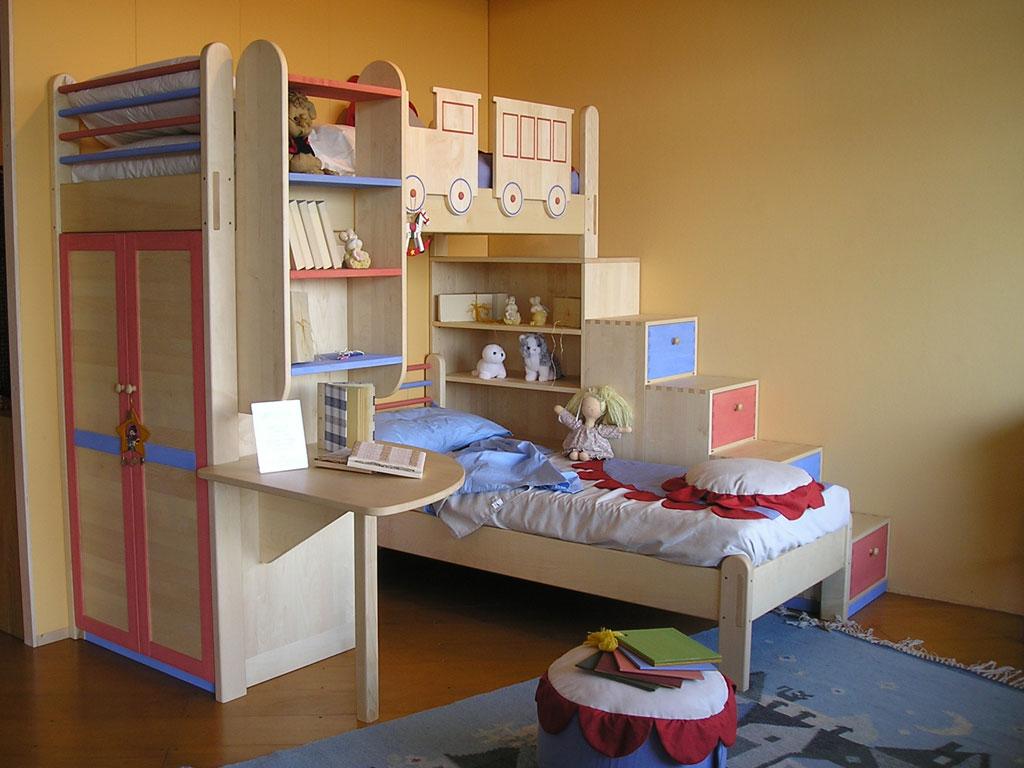 Camerette per bambini, camerette per bambine e neonati  Gallery camerette  Bioliving l'arredo ...