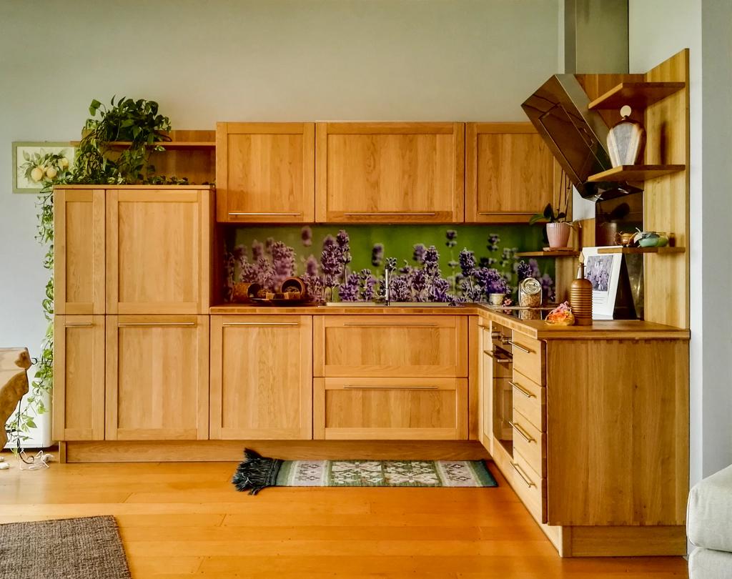 Mobili Cucina Legno Massiccio : Cucina in legno massiccio certificato rovere interni in ontano